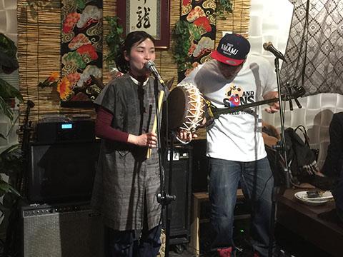 奄美大島 チヂン太鼓