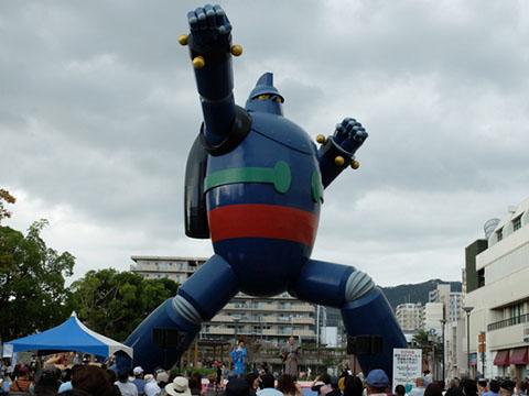 新長田 鉄人広場の琉球音楽祭